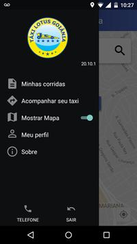 Taxi Lotus Goiânia apk screenshot