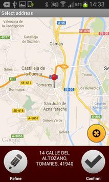 Radio Taxi Aljarafe apk screenshot
