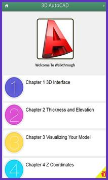 Learn AutoCad 3D Tutorials poster