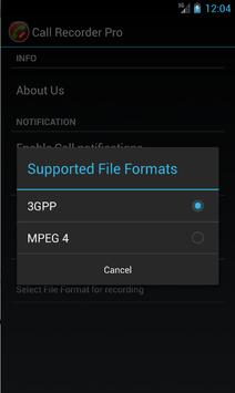 Free Automatic Call Recorder apk screenshot