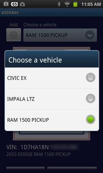 eSticker by Auto Data apk screenshot