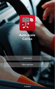 Auto Ecole Carros poster