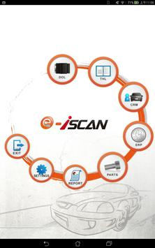 e-iSCAN:Car Diagnostic System poster