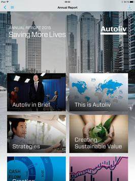 Autoliv Annual Report apk screenshot
