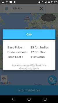 TaxiGain Passenger apk screenshot