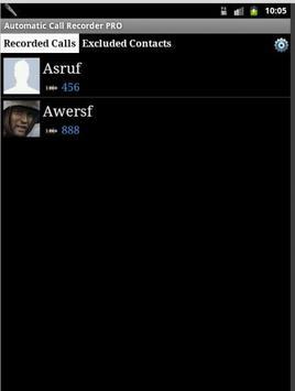Automatic Call Recorder 2015 apk screenshot