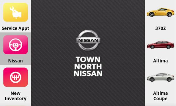 Town North Nissan poster