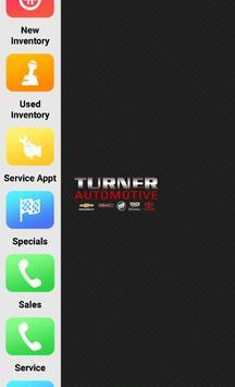 Turner Automotive Dealer App poster
