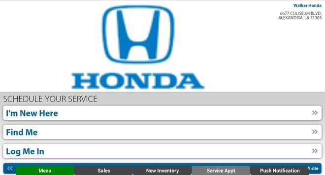 Walker Honda apk screenshot