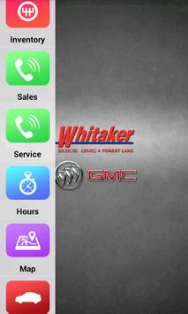 Whitaker Buick GMC poster