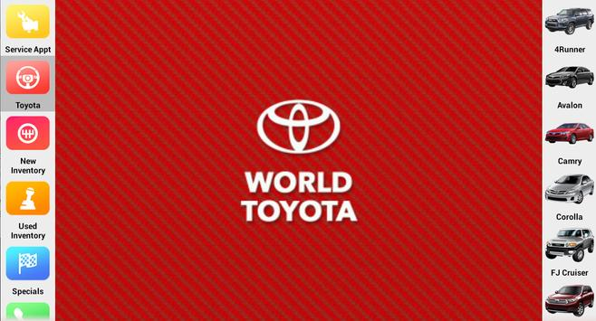 World Toyota apk screenshot