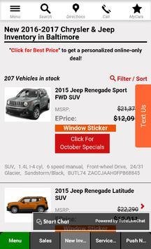 Antwerpen Chrysler Jeep apk screenshot