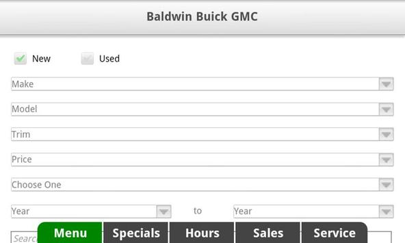 Baldwin Buick GMC apk screenshot