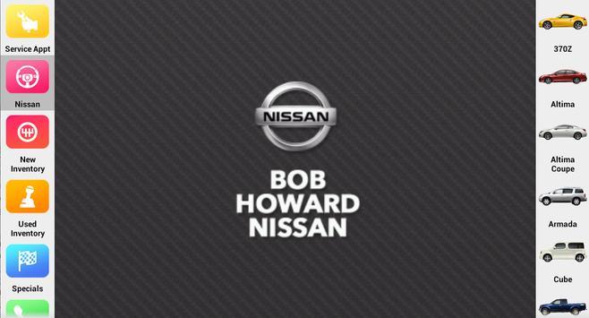 Bob Howard Nissan apk screenshot