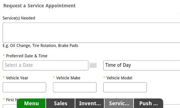 Bunnin Chevrolet Dealer App apk screenshot