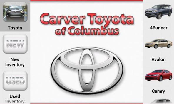 Carver Toyota poster