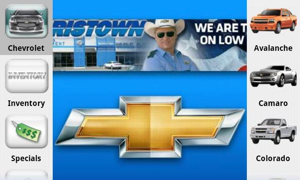 Chevrolet of Morristown poster