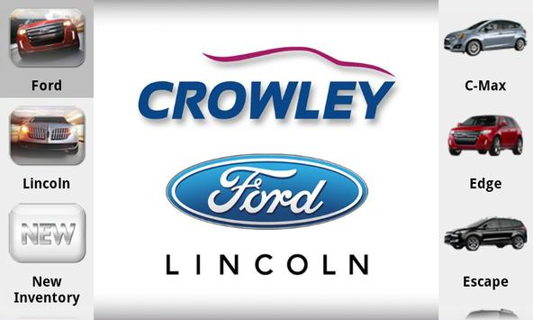 Crowley Ford Lincoln poster
