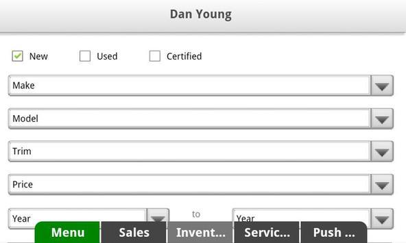 Dan Young GM Center apk screenshot