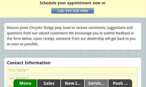 Deacon Jones CJD apk screenshot