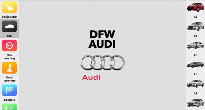 DFW Audi apk screenshot