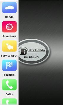 Dix Honda poster