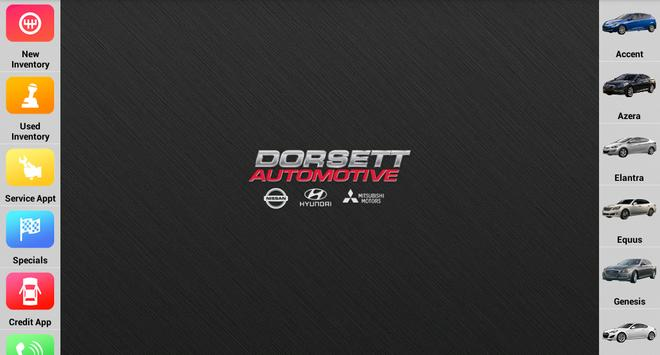 Dorsett Automotive Dealer App apk screenshot