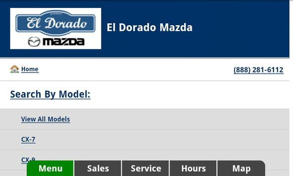 El Dorado Mazda apk screenshot