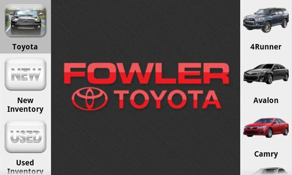 Fowler Toyota poster