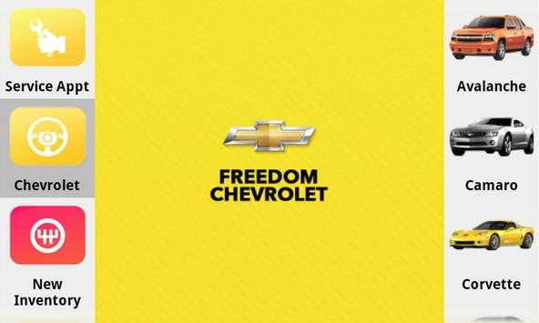 Freedom Chevrolet poster