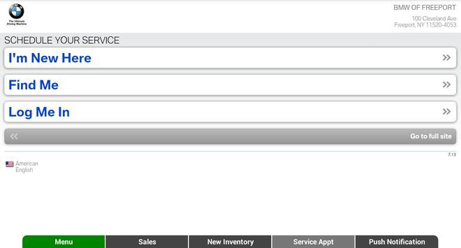 BMW of Freeport apk screenshot