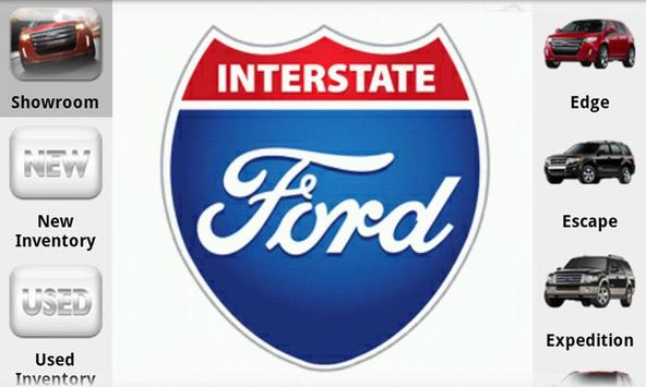 Interstate Ford poster