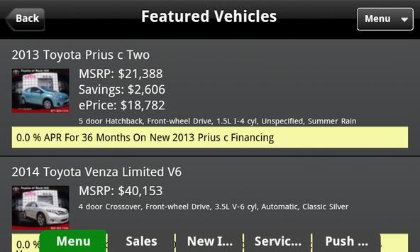 Ira Toyota of Danvers apk screenshot