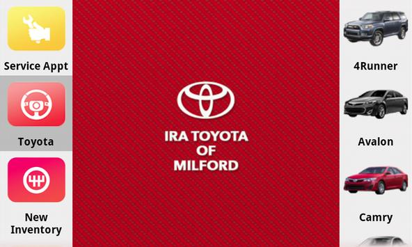 Ira Toyota of Milford poster