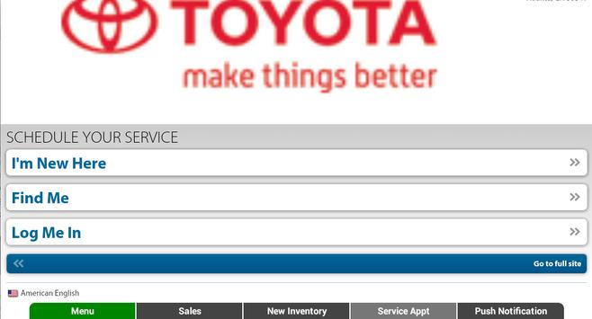 Ira Toyota of Milford apk screenshot
