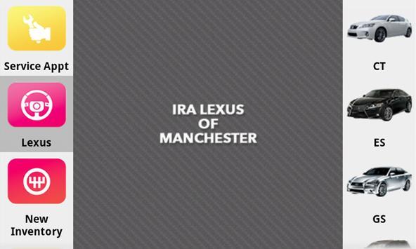 Ira Lexus of Manchester poster