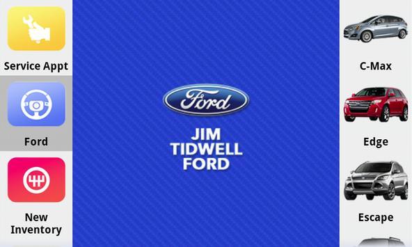 Jim Tidwell Ford poster