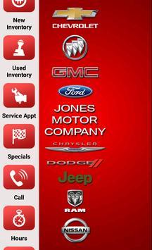 Jones Motor Company apk screenshot