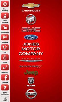 Jones Motor Company poster