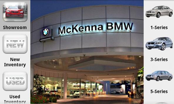 McKenna BMW poster