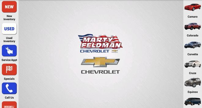 Marty Feldman Chevrolet poster