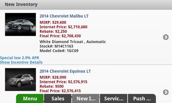 Marty Feldman Chevrolet apk screenshot