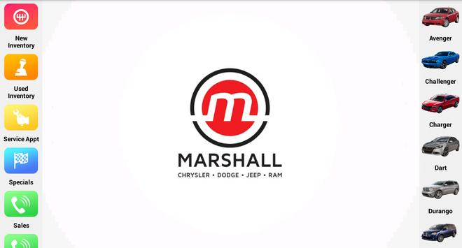 Marshall Chrysler Dodge Jeep apk screenshot