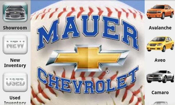 Mauer Chevrolet poster