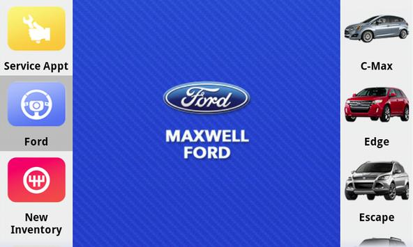 Maxwell Ford poster