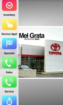 Mel Grata Toyota poster