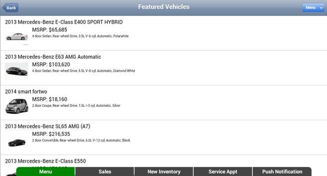 Mercedes-Benz of Boerne apk screenshot