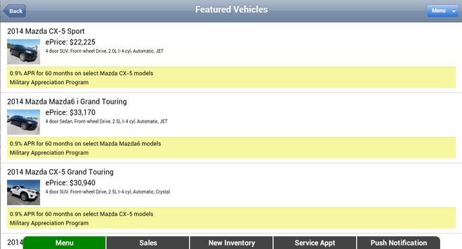 Munday Mazda apk screenshot