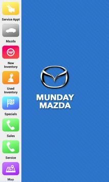 Munday Mazda poster