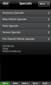 Olathe Kia Dealer App apk screenshot